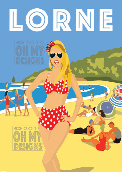 Lorne - Beach Girl