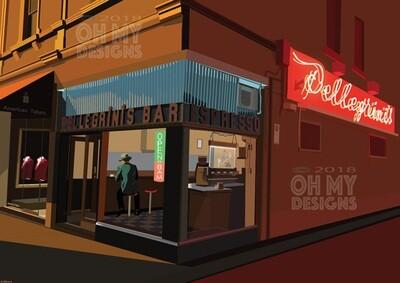 Melbourne - Pellegrini's