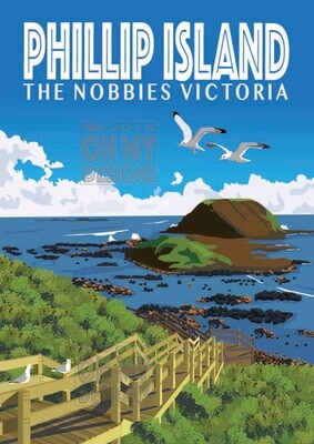 NEWEST! Phillip Island The Nobbies