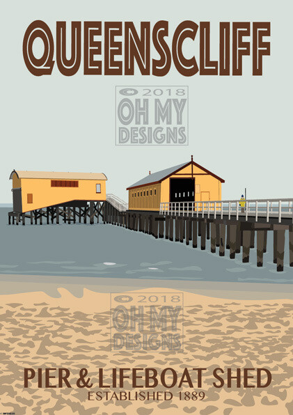 Queenscliffe - Pier & Lifeboat Shed