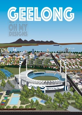 NEWEST! Geelong - Aerial view