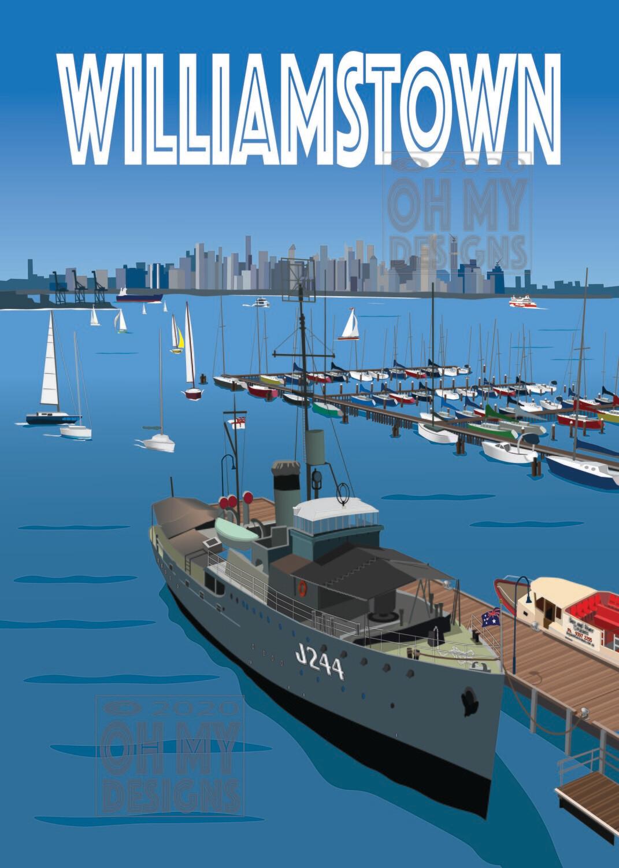 NEWEST!  MELBOURNE - Williamstown