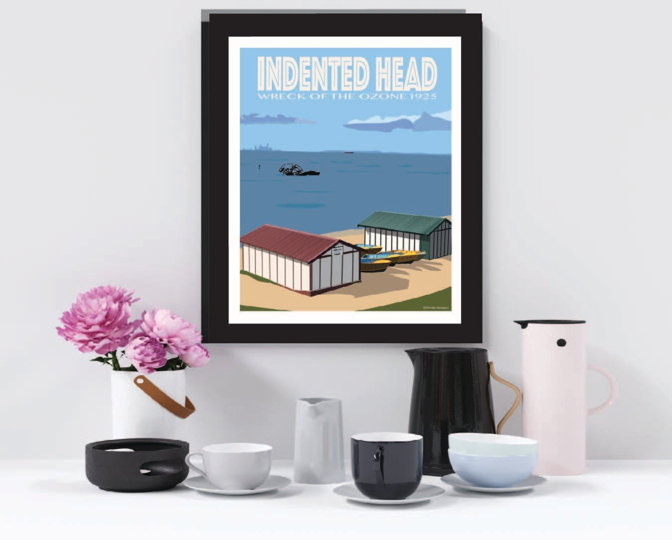 Indented Head - Boat Sheds