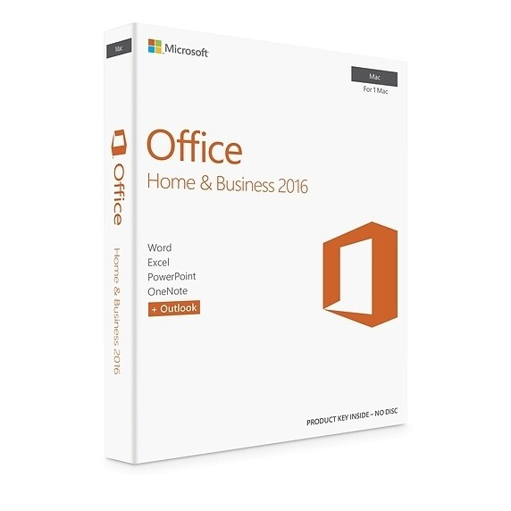 Microsoft Office 2016 Home & Business for Mac Lifetime License