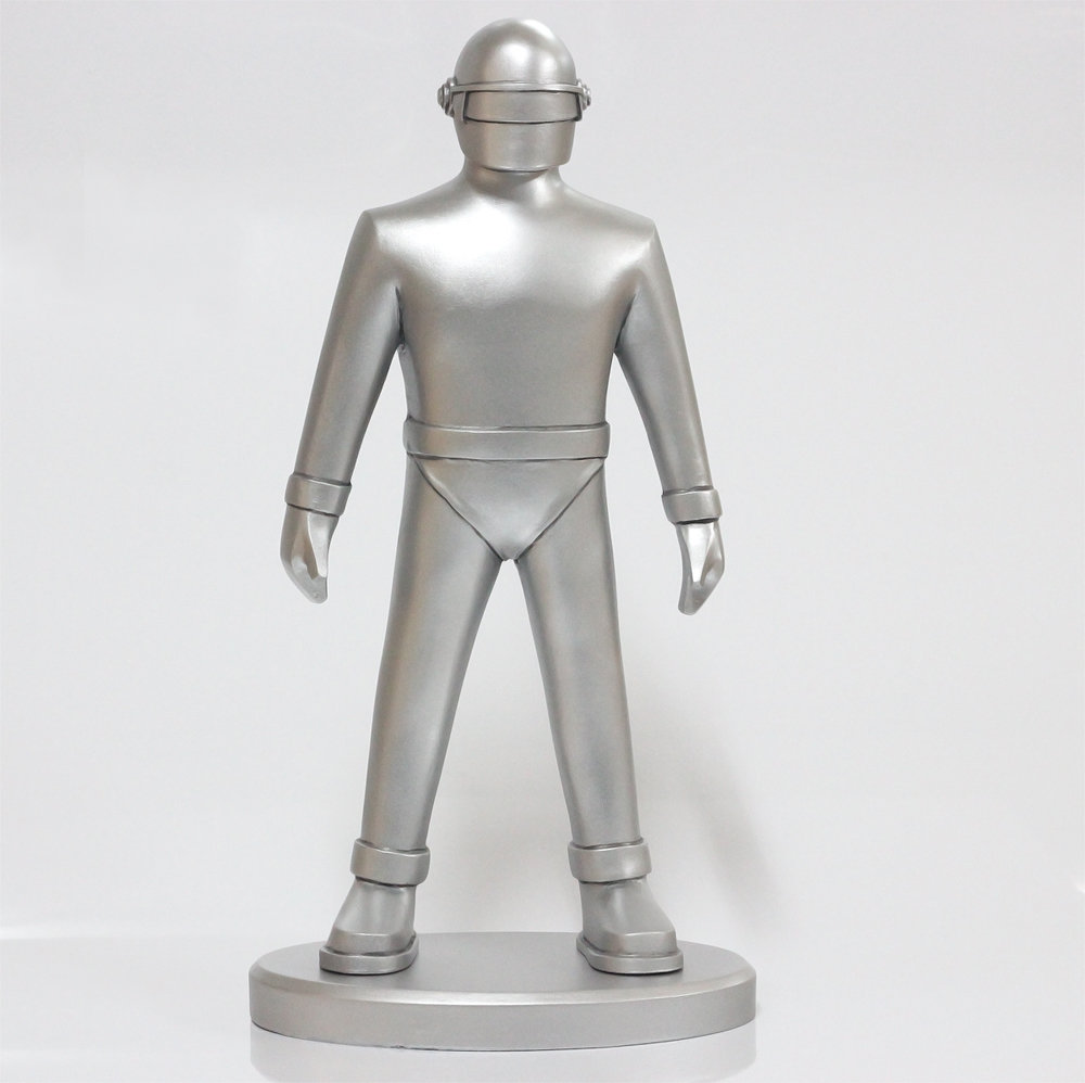 "12"" Gort Robot - The Day the Earth Stood Still - Pre-painted Model"