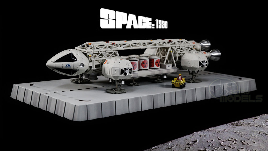 "Sixteen12 Diecast Eagle Freighter From 'SPACE: 1999' - 12"" Long - This Episode: 'Breakaway' LIMITED EDITION!"