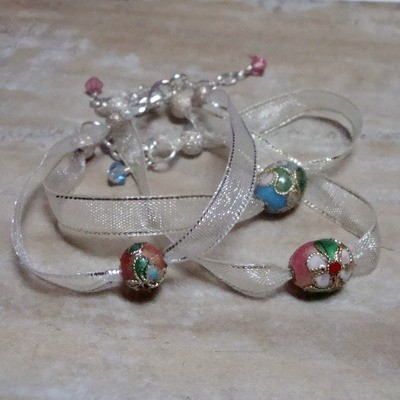Sweet Pea Sterling Bracelet