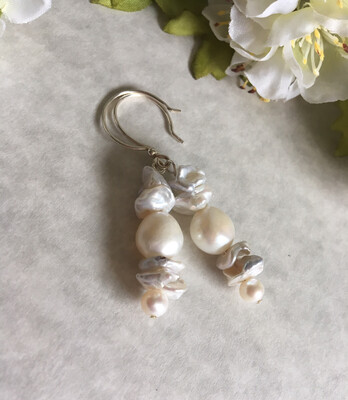 Chantilly Lace Bridal Earrings
