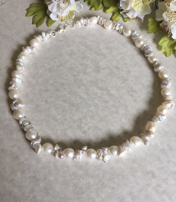 Chantilly Lace Bridal Necklace