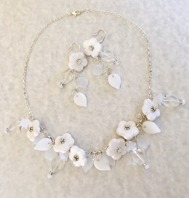 Fiona Necklace And Earring Bridal Set