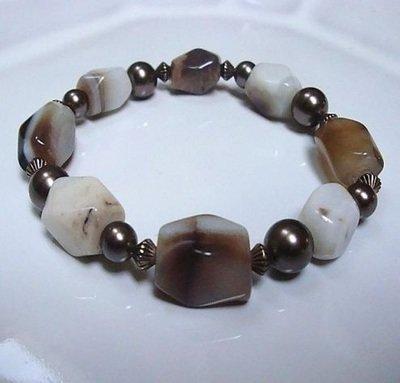 Glazed Satin Bracelet