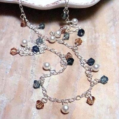 Tuscan Sunrise Sterling Necklace *Single Strand