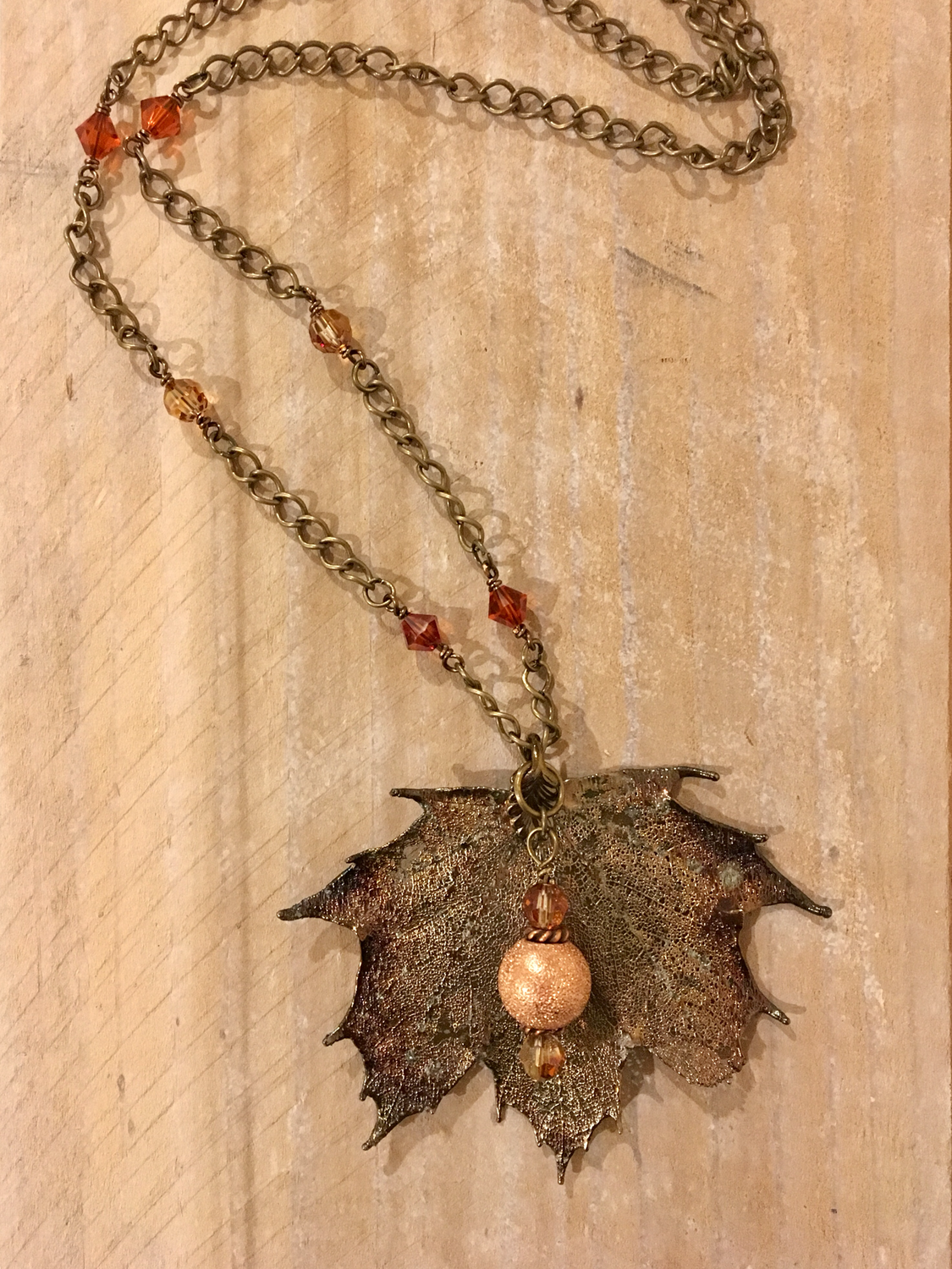 Special Order- Autumn Glory Necklace for Customer A.