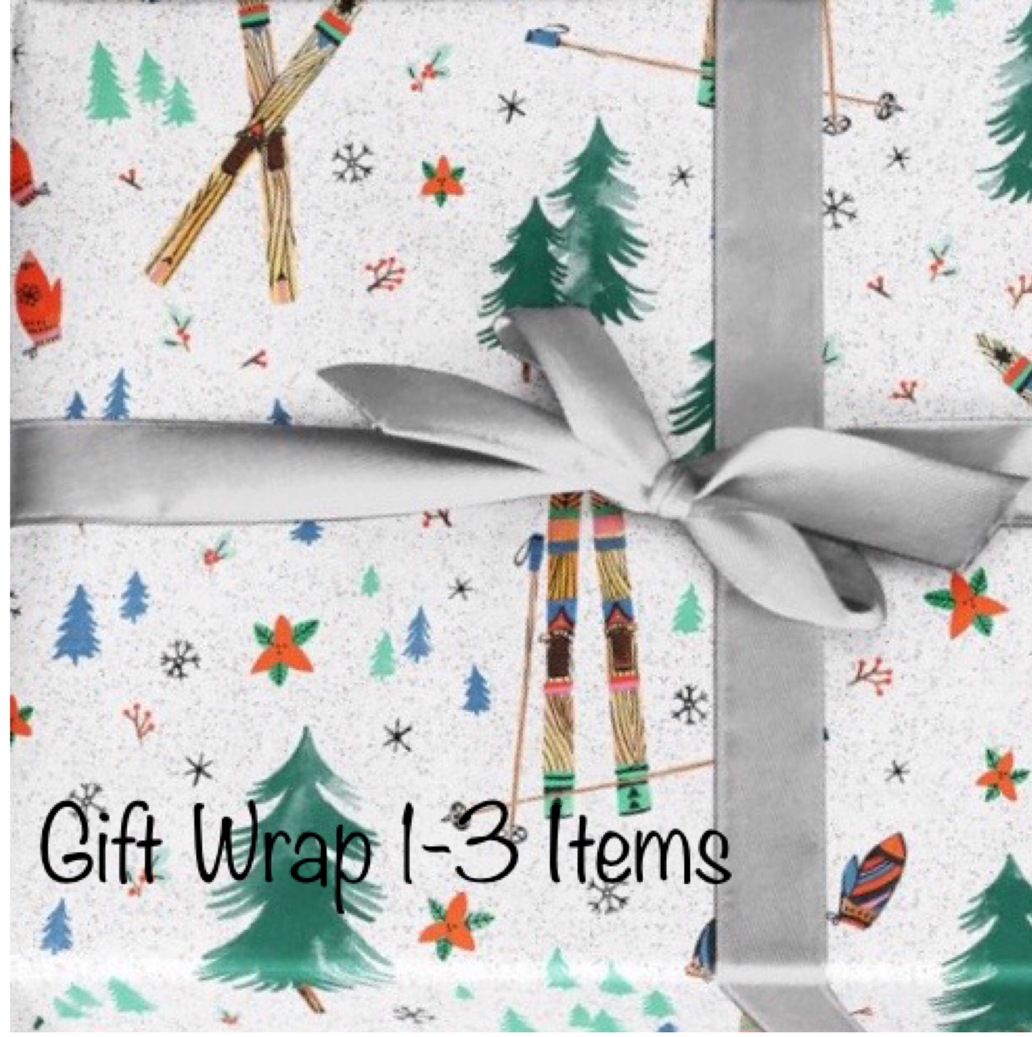 Holiday Gift Wrapping 1-3 items