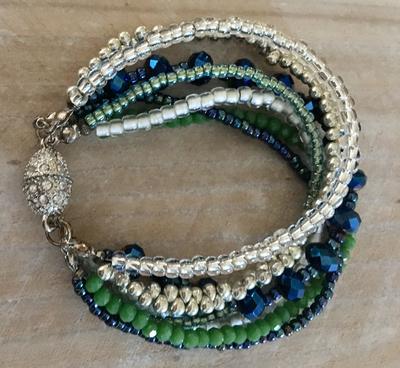 Seahawks Bling Bracelet