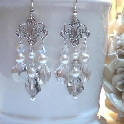 Ella Long Sterling Earrings