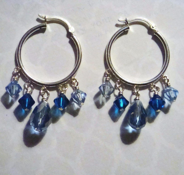 Ophelia Sterling Hoop Earrings