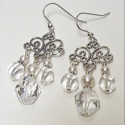 Ella Sterling Earrings - Short