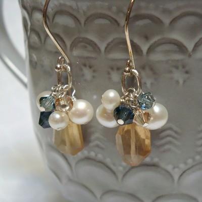 Tuscan Sunrise Sterling Earrings