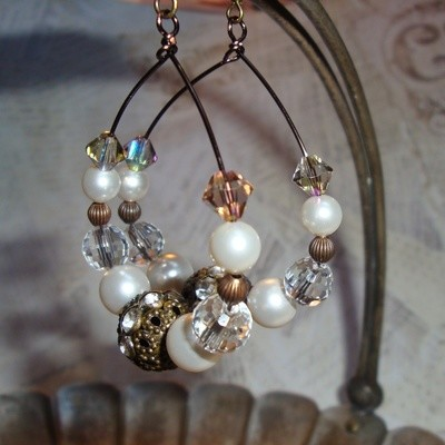 Sugar Frosted Earrings