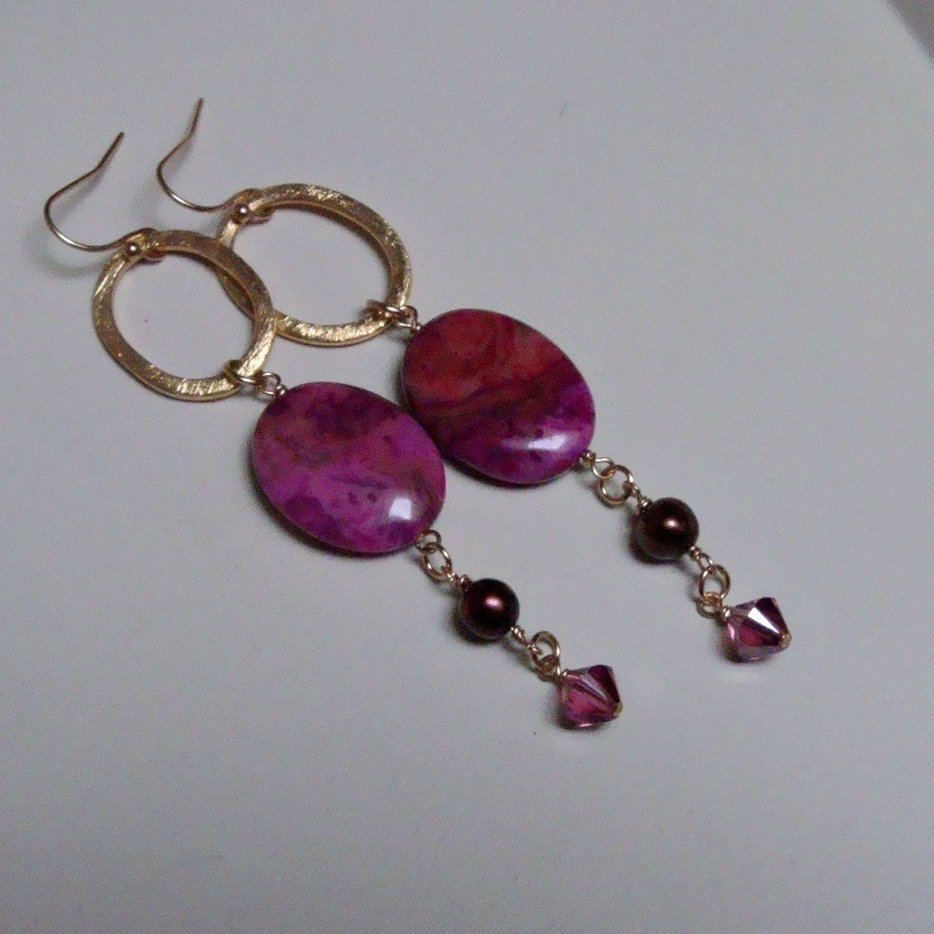 Bella Dolce Gold Filled Earrings