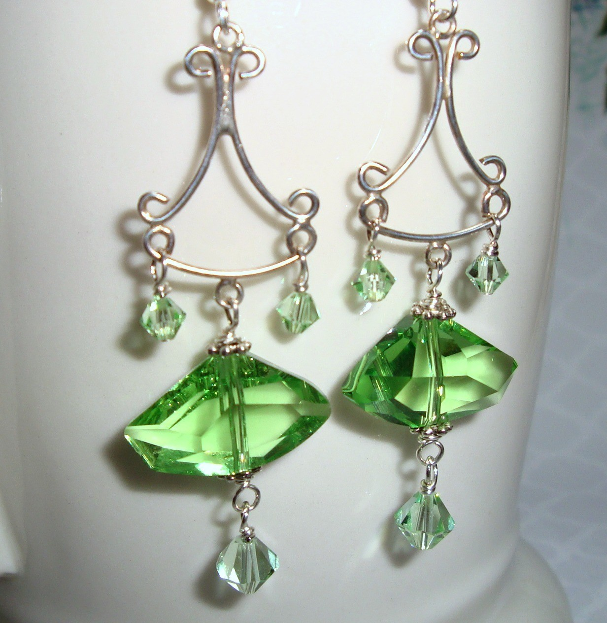Ambrosia Sterling Earrings