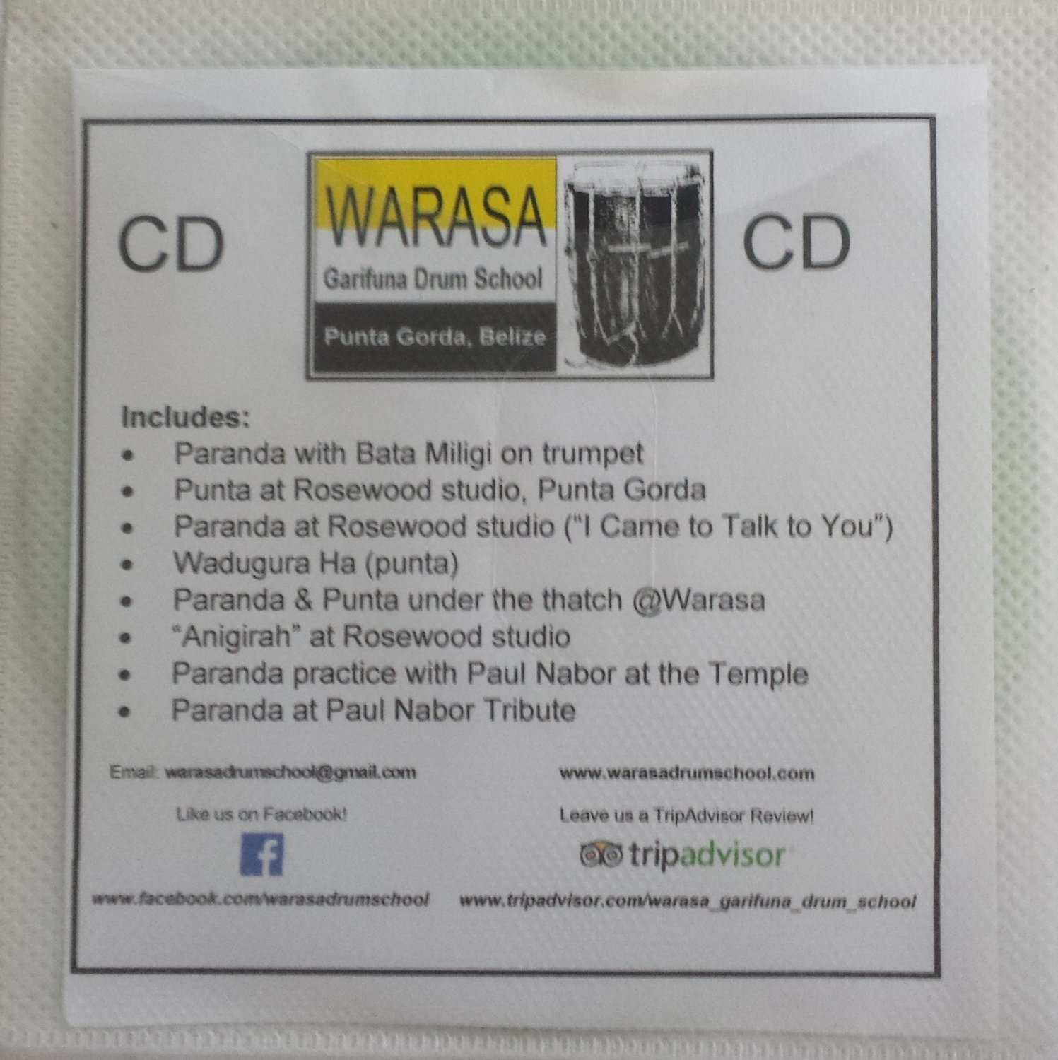 Warasa CDs & DVDs