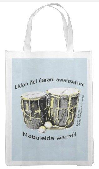 Proud Garinagu Reusable Shopping Bag