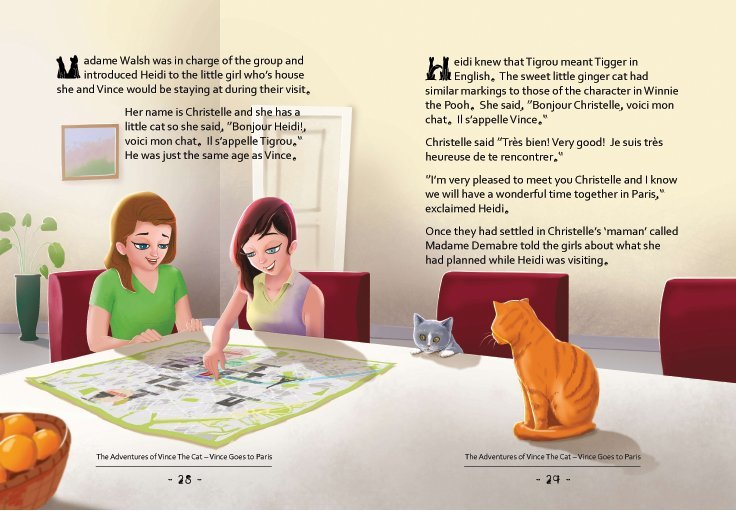 US-The Adventures of Vince the Cat-Vince Goes to Paris