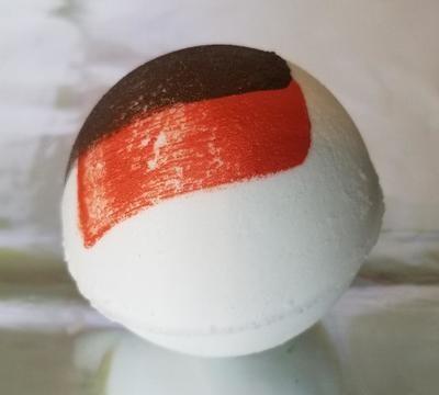 Blood Orange & Cedarwood E.O. Bath Bomb