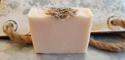 Carrot Seed and Lavender E.O.  Soap Bar