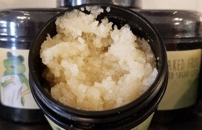 Cedar Leather Sugar Scrub 4oz.