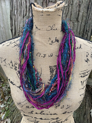 Fiber Necklace
