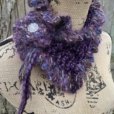 Crochet Scarflette