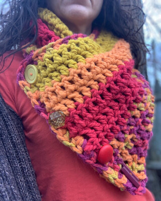 Chunky Oversized Cowl
