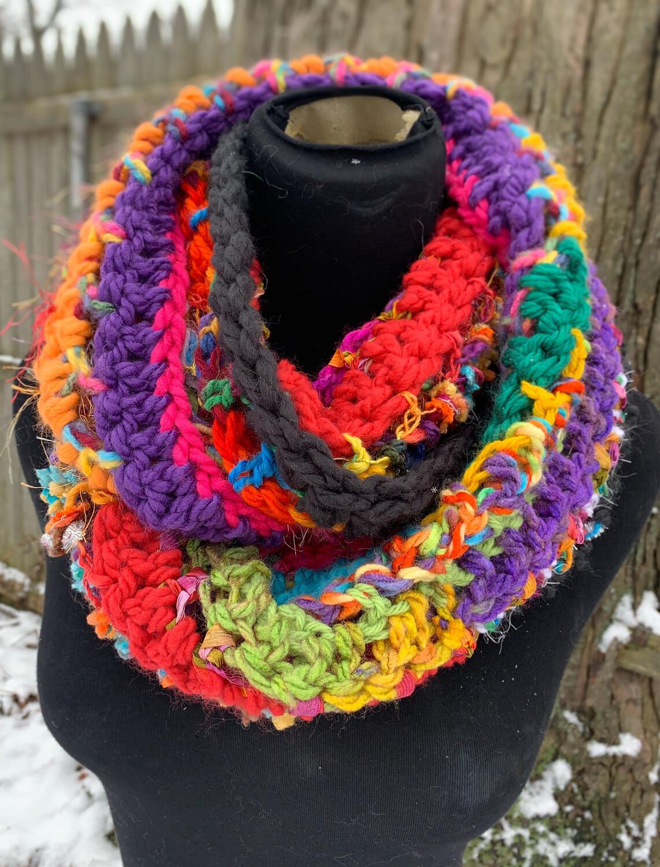 Multicolor Infinity Scarf