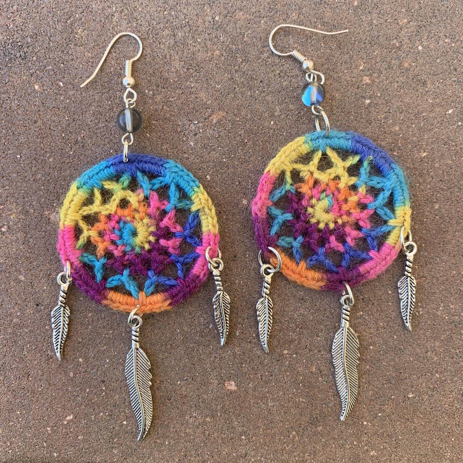 Rainbow Dreamweaver Earrings