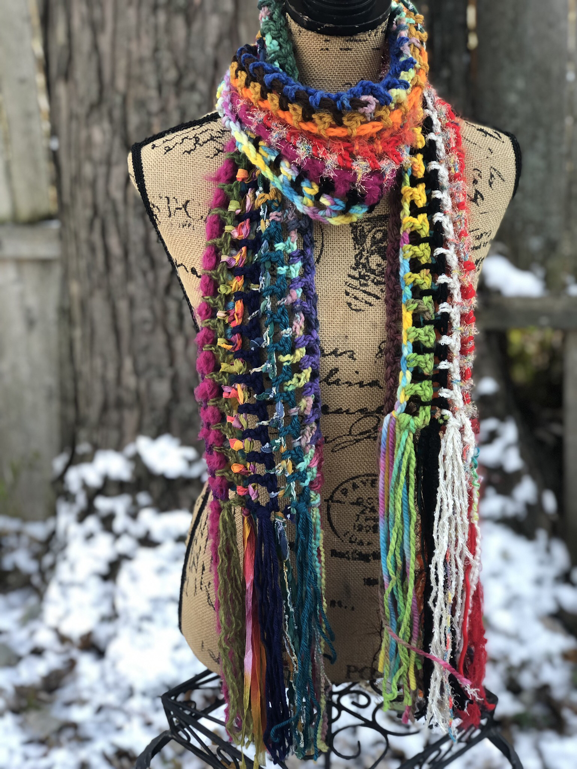 Long Skinny Scarf