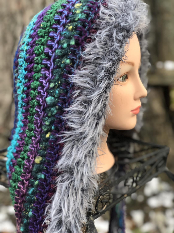 Crochet Oversized Hoods