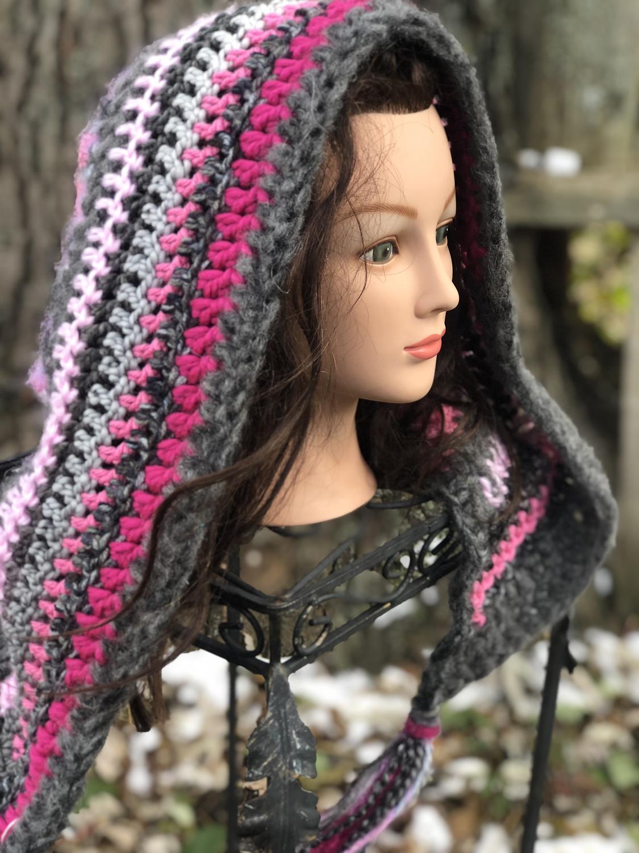 Crochet Oversized Hood