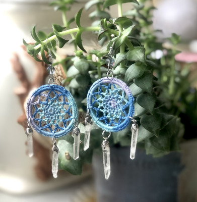 Crystal Dreamer Earrings
