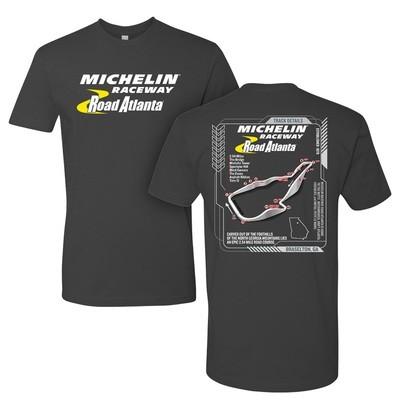 Michelin Raceway 3D Track Tee - Heavy Metal