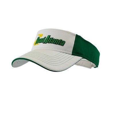 2018 RA White/ Kelly Green Visor