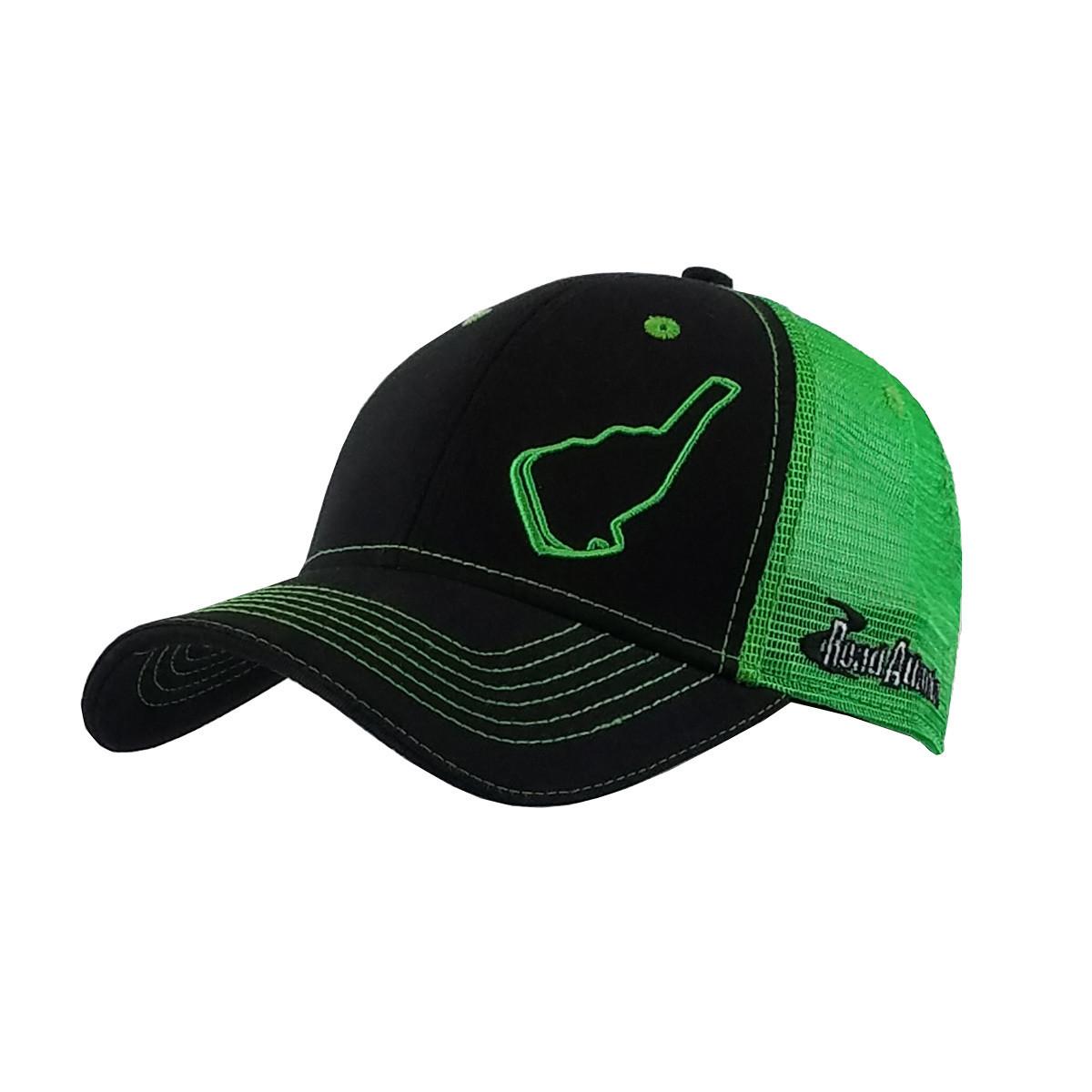 Road Atlanta Green Track Outline Hat
