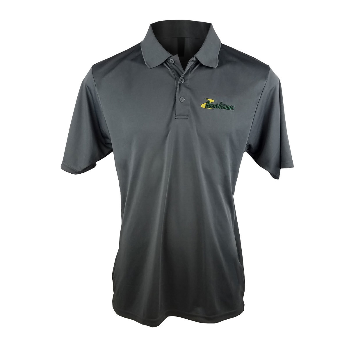 Road Atlanta Men's Polo - Grey Metal