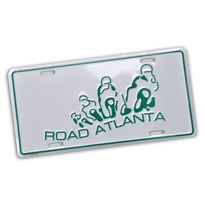 RA Vintage Motorcycle Logo Car Tag