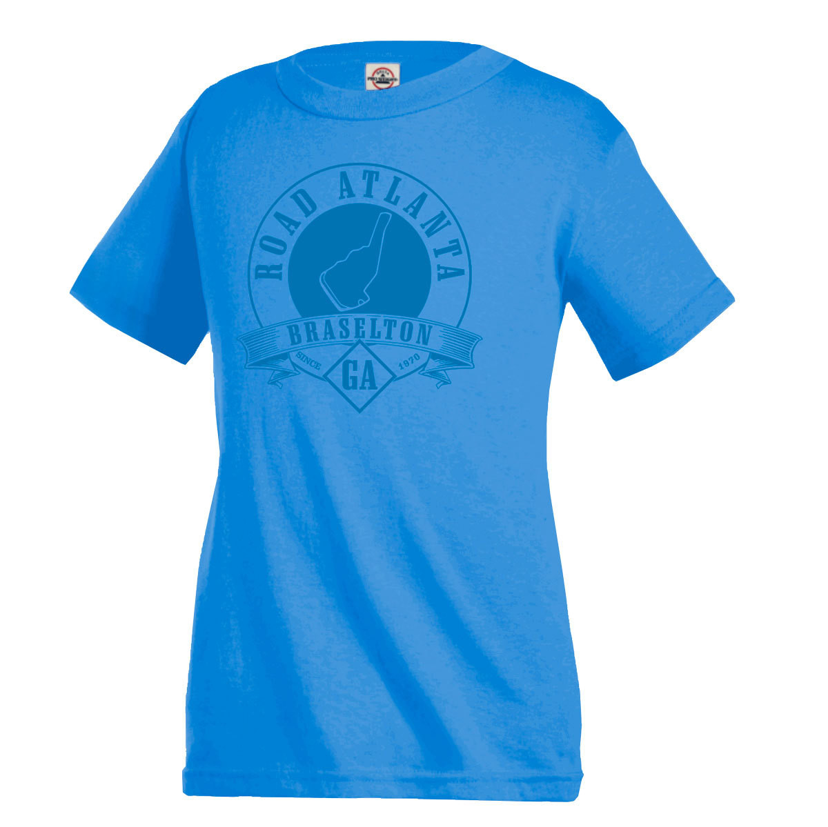 Road Atlanta Baysider Tee - Light Blue