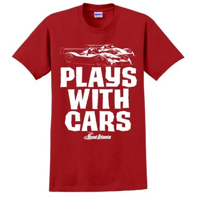 Road Atlanta Still Plays With Cars Tee - Red