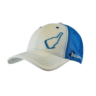 2018 RA Turquoise Track Outline Hat