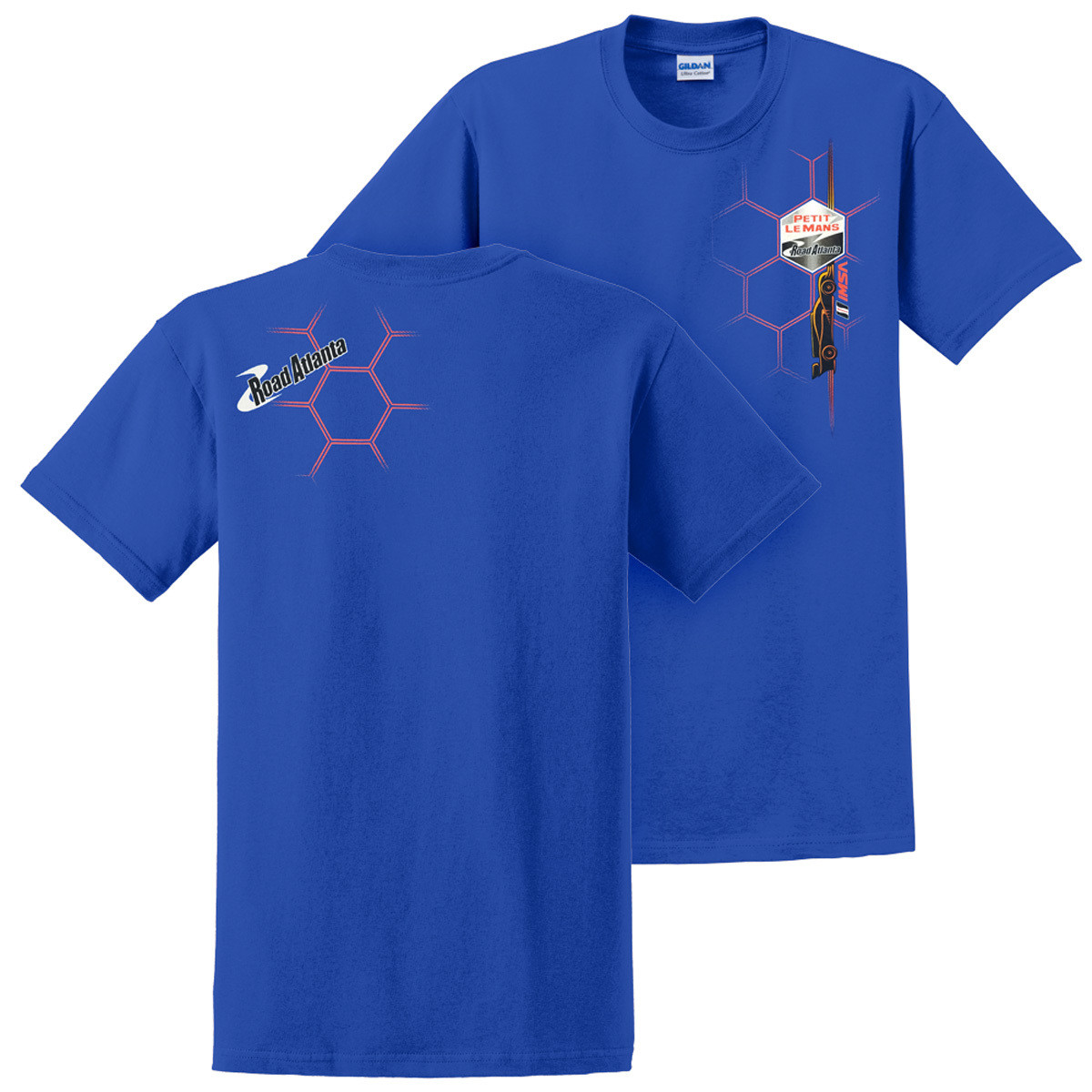 PLM Honeycomb Design Tee - Royal
